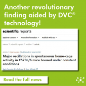 Another revolutionary finding aided by DVC® technology! Read how it helped to discover major oscillations in spontaneous home-cage activity