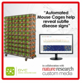 DVC®, the cage of the future! Improves animal welfare, offer more reliable measurements of normal behaviour and makes it easier to spot deviations, accelerating your research