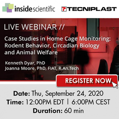 DVC®: Rodent Behavior, Circadian Biology and Animal Welfare: all in one!